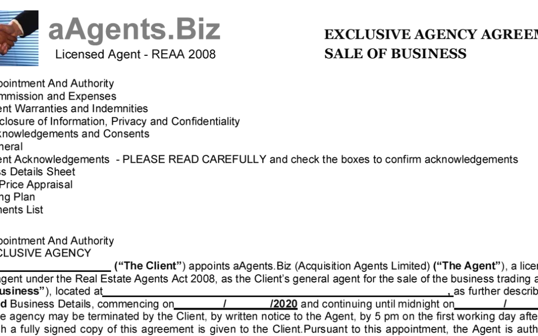 Seller's Agency Agreement